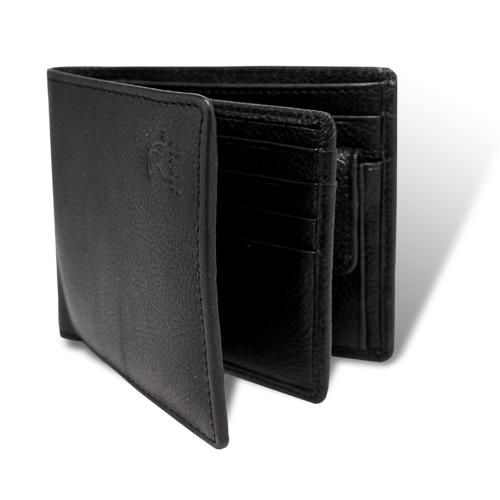 アーノルドパーマー多機能Ⅲ中ベら付き札入れ 二つ折り財布 ブラック