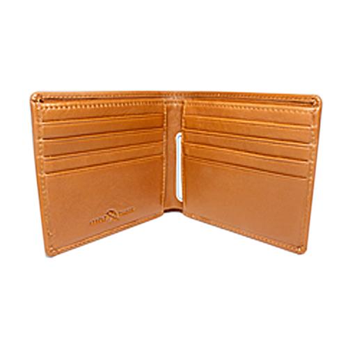 ペコラシリーズ シープスキン 純札入 二つ折り財布 小銭入れ無し 説明3