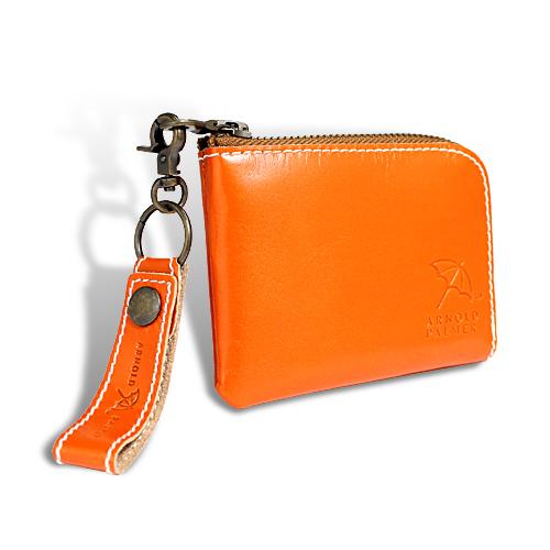 アーノルドパーマー カラフルシリーズ 財布 オールインウォレット オレンジ