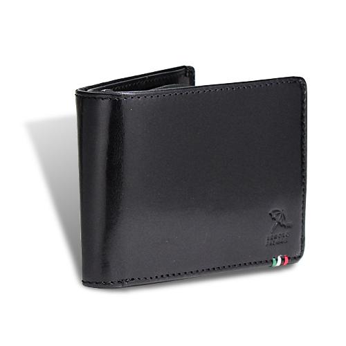 アーノルドパーマー italy6 シリーズ 内LF 札入れ 二つ折り財布 ブラック