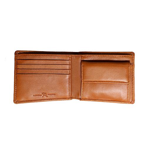 ペコラシリーズ シープスキン 札入 二つ折り財布 説明2