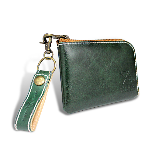 アーノルドパーマー カラフルシリーズ 財布 オールインウォレット グリーン