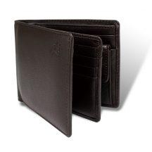 アーノルドパーマー多機能Ⅲ中ベら付き札入れ 二つ折り財布 ブラウン