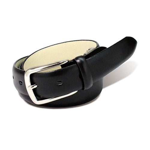 栃木レザー PIN ベルト ブラック