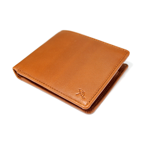 ペコラシリーズ シープスキン 札入 二つ折り財布 説明1