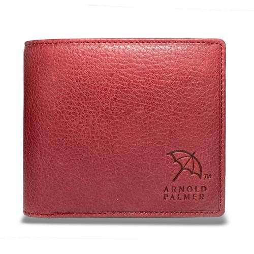 アーノルドパーマー 多機能Ⅱ二つ折り財布 中ベラ付き札入れ レッド