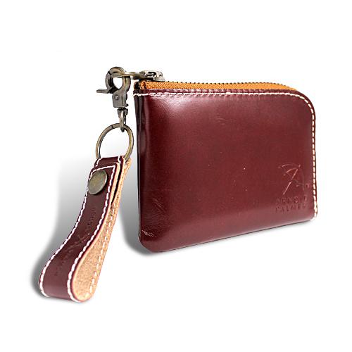 アーノルドパーマー カラフルシリーズ 財布 オールインウォレット ブラウン