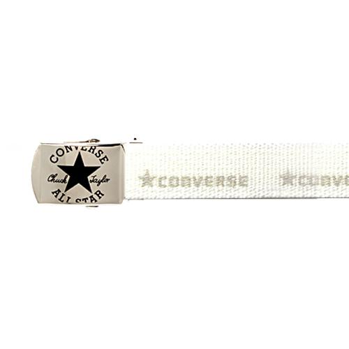コンバース カジュアル テープ ベルト 4100 ホワイト