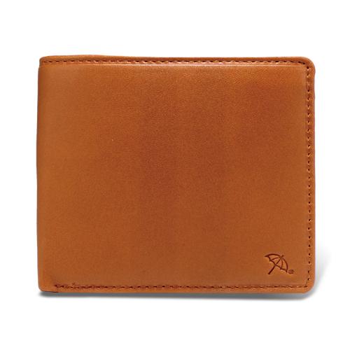 ペコラシリーズ シープスキン 札入 二つ折り財布 タン