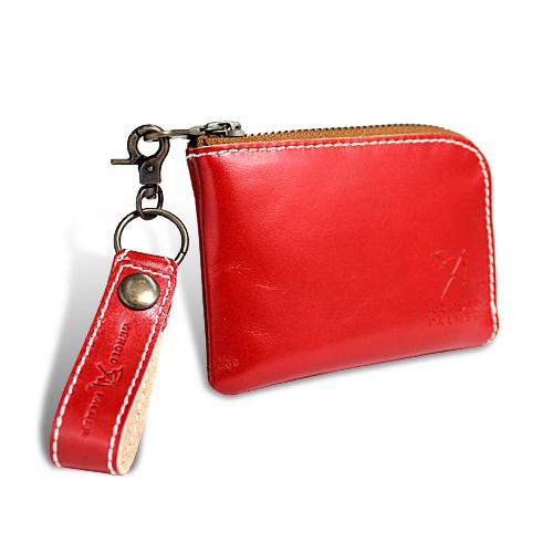 アーノルドパーマー カラフルシリーズ 財布 オールインウォレット レッド