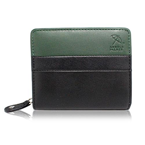 アーノルドパーマー スウィッチシリーズ ラウンド札入れ 二つ折り財布 ブラック