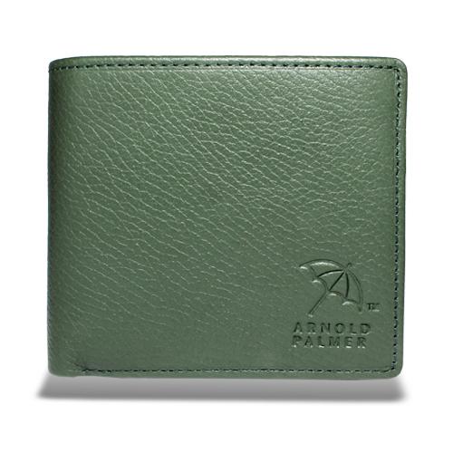 アーノルドパーマー 多機能Ⅱ二つ折り財布 中ベラ付き札入れ グリーン
