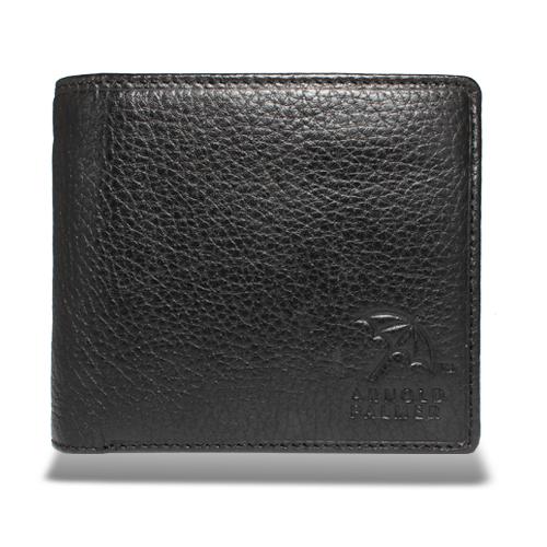 アーノルドパーマー 多機能Ⅱ二つ折り財布 中ベラ付き札入れ ブラック