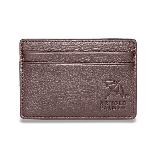 アーノルドパーマー 多機能Ⅱ カード入付小銭入れ ブラウン