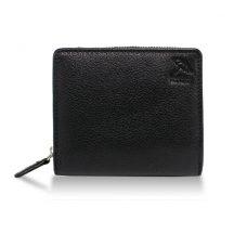 アーノルドパーマー多機能Ⅲ二つ折り財布カードお札のみベら付き純札入れブラウン