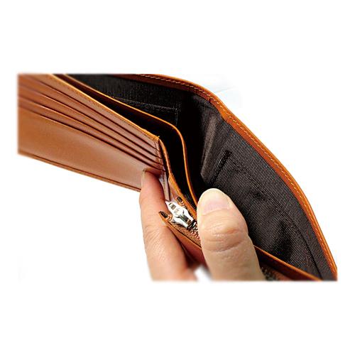 栃木レザー 内LF札入れ 二つ折り財布 説明3