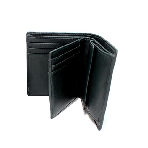 メンズバツ 中ベラ付深札入れ 二つ折り財布 内側 0037