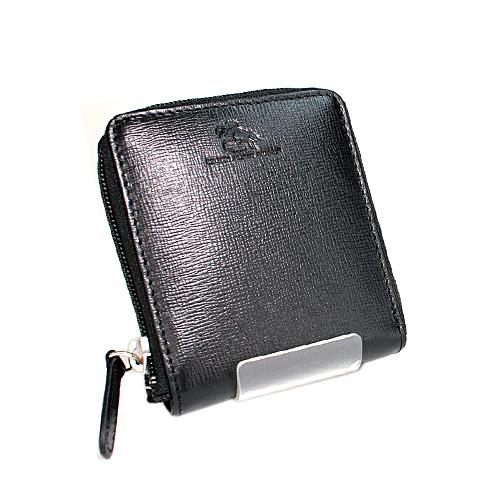ブリティッシュ・ホース・ライディング ラウンド札入れ 二つ折り財布 1537